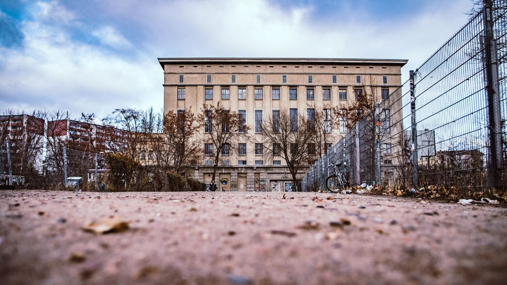 old power station now Berghain super club
