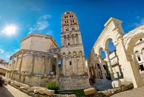 diocletian's palace part of Game Of Thrones tour in Croatia